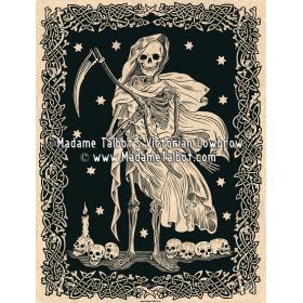 Affiches gothiques victoriennes Madame Talbot: La Grande Faucheuse