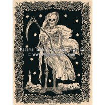 Victorian Gothic Posters - Madame Talbot: The Grim Reaper