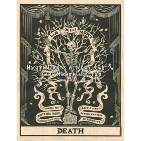 Victorian Gothic Posters - Madame Talbot: Death Tarot