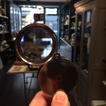 Discovery magnifying glass - Bronze finish