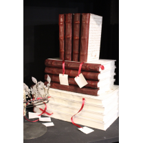 """Cahier Livre manuscrit """"Merci Louis"""""""