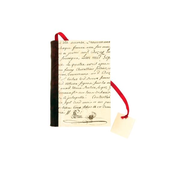 Cahier Livre manuscrit