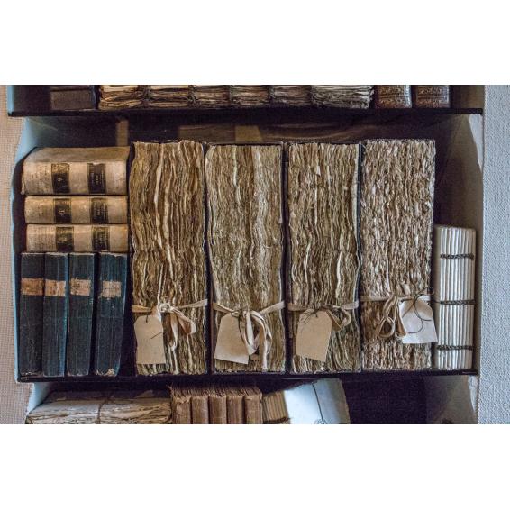 "Files drawers (""Merci Louis"") - Book cover"