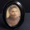 Haunted frame: Aunt Camilla (oval)
