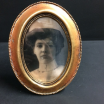 Haunted frame: Aunt Carmilla (golden oval)