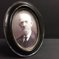 Haunted frame: Grand Pa Esbat (black oval)