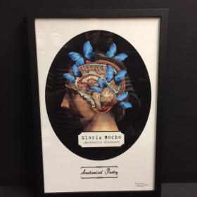 "Cadre: Tirage d'art ""Anatomical Poetry"" par Mike Sajnoski - Gloria Morbo"