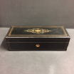 Victorian mahogany box for gloves, Napoleon III period