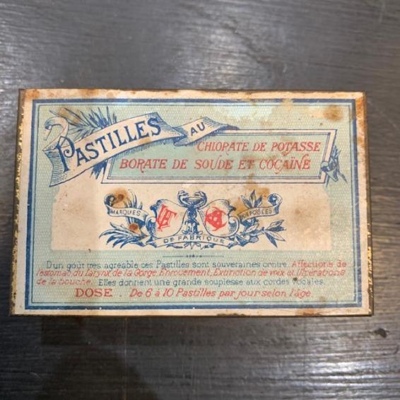 Boîte de pastilles Potasse - Cocaïne