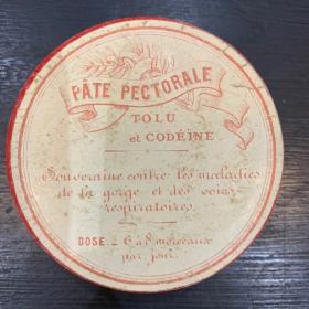 Pâte pectorale au Tolu et Codéïne