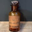 Old pharmacy bottle: Bismuth Subgallate