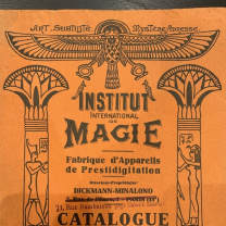 Catalogue Institut International de Magie par Dickmann Minalono