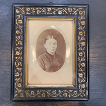 Victorian photo frame of the XIXth century